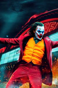 480x800 Joker Joaquin Phoenix Dancing 4k