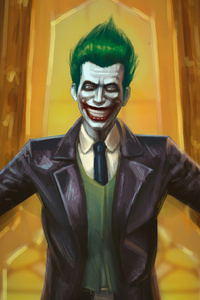 Joker Laugh Artnew