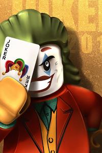 Joker Lego Art