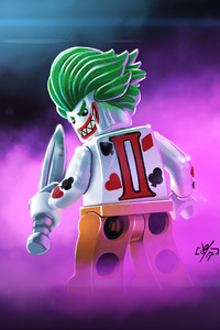 320x568 Joker Lego Smiling