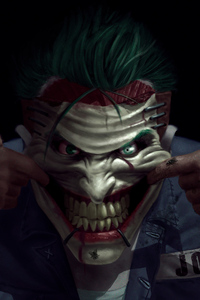 Joker Mad Art