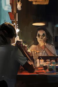 800x1280 Joker Makeup Time