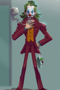 Joker Man Made Artwork