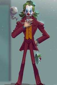2160x3840 Joker Man Made Artwork