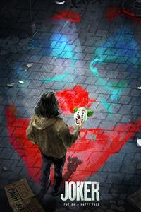 1440x2560 Joker Mask