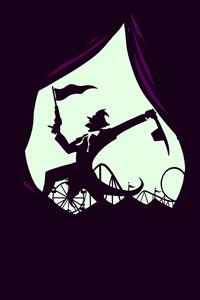 Joker Minimal Poster 5k