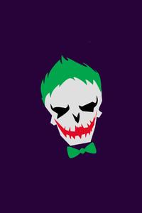 480x800 Joker Minimalism 4k
