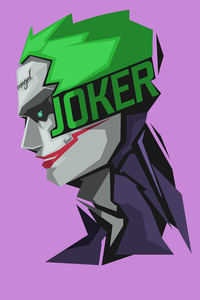 Joker Minimalism 8k