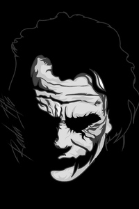 Joker Monochrome