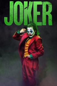 Joker On Head Gun Point