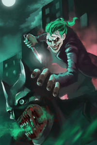 480x800 Joker On Hunt