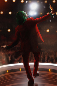 1080x2160 Joker Oscar Winning Dance