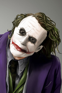 Joker Paint Art
