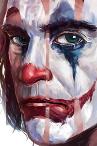 Joker Paint Splash Art 4k