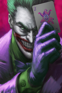 480x800 Joker Play Card 4k
