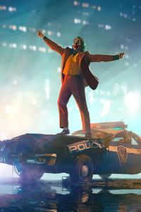 Joker Police Car