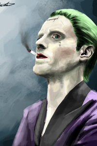 1280x2120 Joker Portrait
