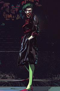 1080x2280 Joker Project Gotham 4k
