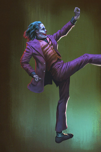 1440x2560 Joker Purple Coat