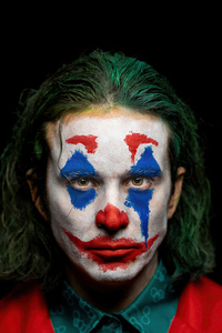 240x320 Joker Put On A Happy Face 5k