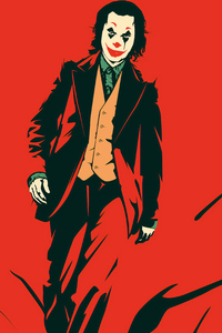 1440x2960 Joker Red 4k