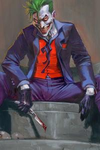 1242x2688 Joker Sitting