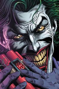 320x480 Joker Smile 2020 Artwork