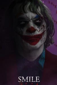 320x480 Joker Smile 2021