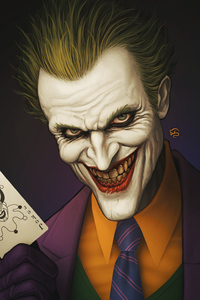 240x400 Joker Smile Art