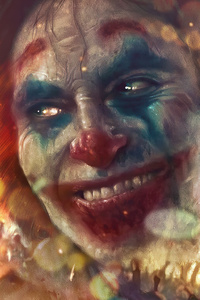 1280x2120 Joker Smile City Burn