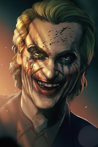 Joker Smile Hard