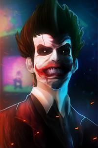 Joker Smiling Art HD