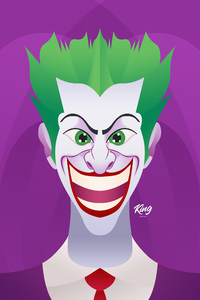 Joker Smiling Artwork