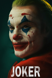 Joker Smiling Closeup