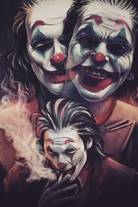 Joker Smoker Art