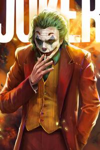800x1280 Joker Smoker4k