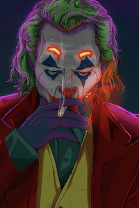 800x1280 Joker Smoking Man