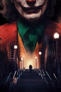 Joker Stair Walk 4k
