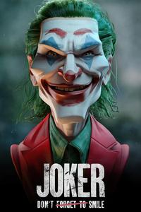 480x800 Joker Strange Face 4k