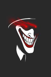 1125x2436 Joker Strange Minimal 5k