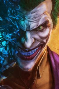 240x320 Joker Supervillian