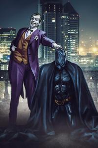 Joker Take Down The Bat
