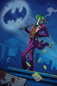 Joker Take Over Gotham City