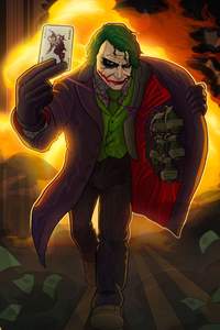 Joker The Dark Knight Art