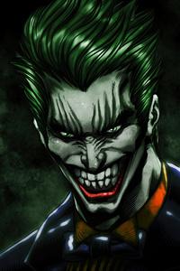 2160x3840 Joker The Laughing Face 4k