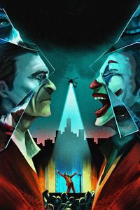 Joker Two Face Art