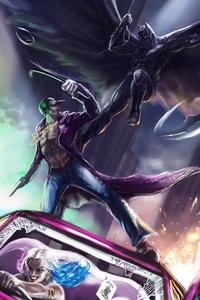 Joker Vs Bat