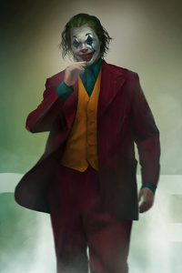 Joker Walking Art