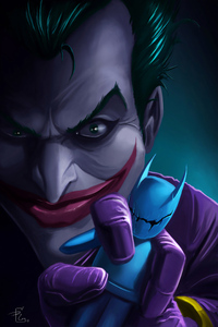 480x800 Joker With Bat Dool