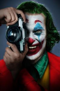 Joker With Camera